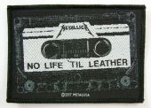 Metallica - 'No Life 'til Leather' Woven Patch